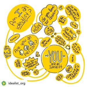 idealist inspiring instagram