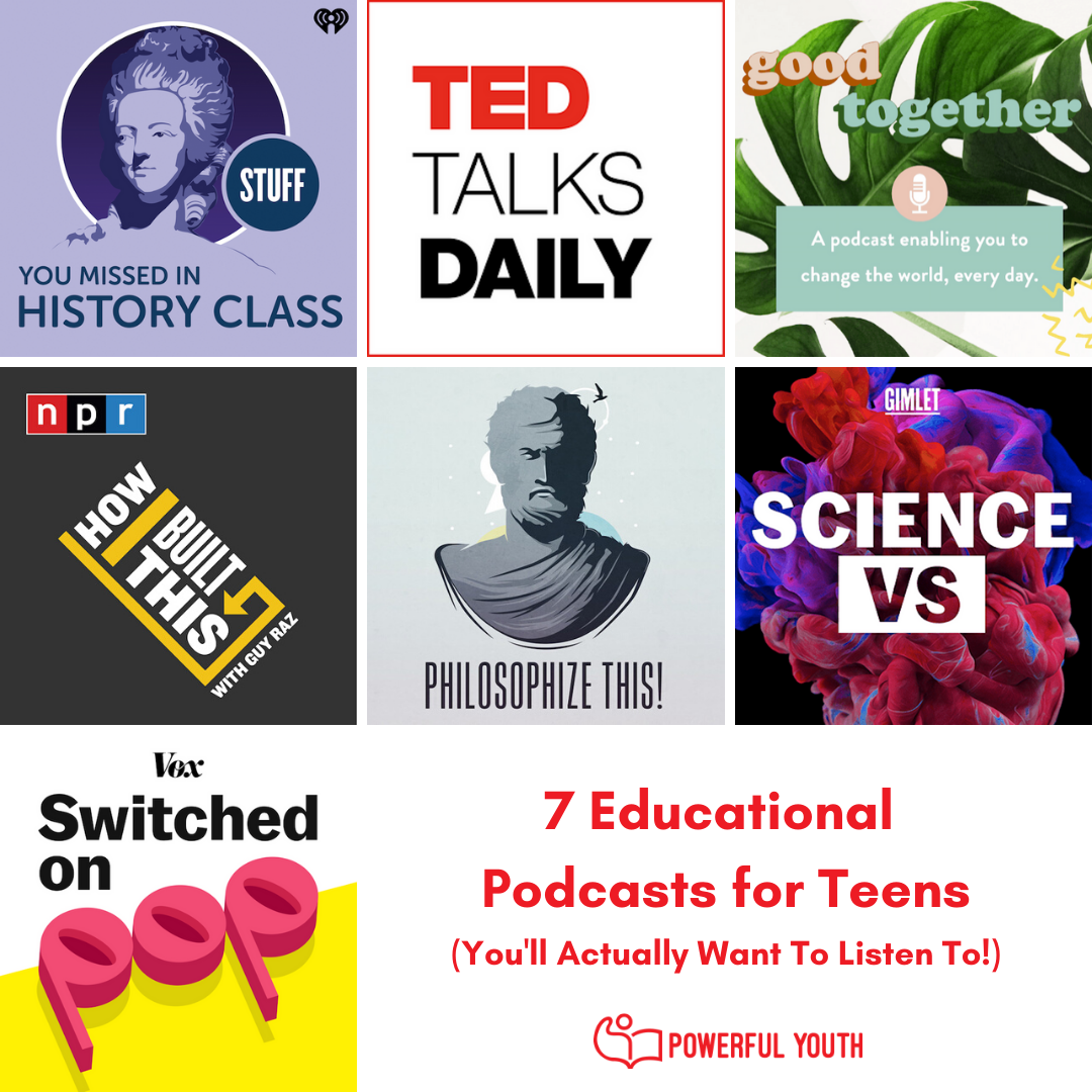 7 Educational Podcasts for Teens You'll Actually Want to Listen To!